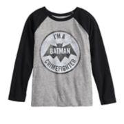 Boys 4-12 Jumping Beans® DC Comics Batman Crimefighter Raglan Tee