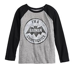 Boys 4-12 Jumping Beans® DC Comics Batman Crimefighter Raglan Tee