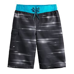 Boys 8-20 ZeroXposur Blue Ray Swim Trunks