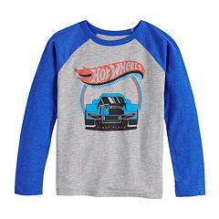 Boys 4-12 Jumping Beans® Hot Wheels Raglan Graphic Tee