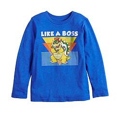 Boys 4-12 Jumping Beans® Mario Bros Koopa 'Like A Boss' Graphic Tee
