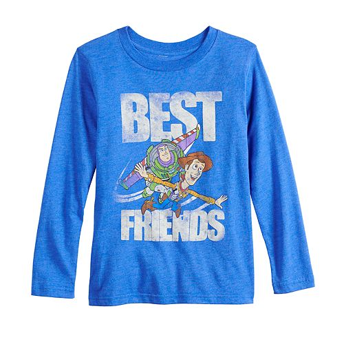 Disney / Pixar Toy Story Boys 4-12 Woody & Buzz Lightyear Graphic Tee by Jumping Beans®