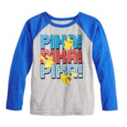 Boys 4-12 Jumping Beans® Pokemon Pika! Raglan Graphic Tee