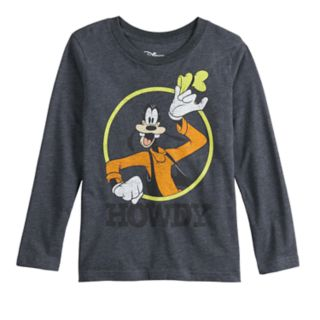 """Disney's Mickey Mouse & Friends Boys 4-12 Goofy """"Howdy"""" Graphic Tee by Jumping Beans®"""