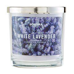 SONOMA Goods for Life™ White Lavender 14-oz. Candle Jar