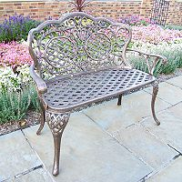 Oakland Living Lattice Patio Love Seat