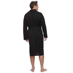 Big & Tall Croft & Barrow® True Comfort Lightweight Knit Robe