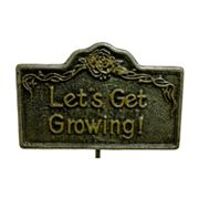 Oakland Living Let's Get Growing Garden Marker