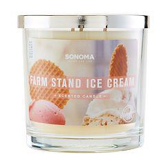 SONOMA Goods for Life™ Farm Stand Ice Cream 14-oz. Candle Jar