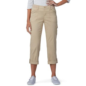 a4acfd09a3a Women s Lee Relaxed Fit Flex-To-Go Cargo Capris