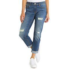 Women's Jordache Brooklyn Midrise Skinny Boyfriend Jeans