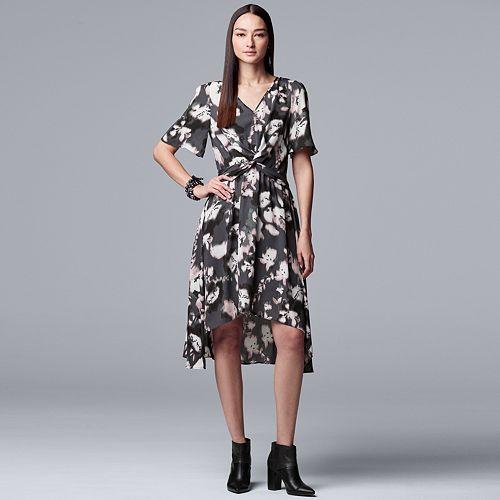 bd6b9c30fdb Women s Simply Vera Vera Wang Knot-Front Dress