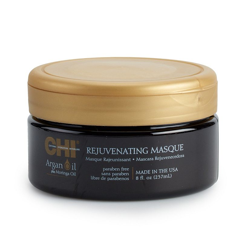 CHI Argan Oil Rejuvenating Masque, Size: 8 Oz Color: Multicolor. Gender: female. Age Group: adult. Material: Plastic / Other.
