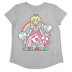 Toddler Girl Jumping Beans® Super Mario Bros. Princess Peach & Friends Graphic Tee