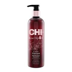 CHI Rose Hip Oil Color Nurture Protecting Shampoo