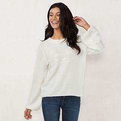 Petite LC Lauren Conrad Blouson Sweatshirt