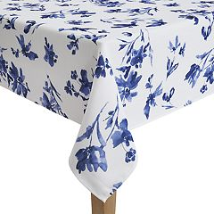 Food Network™ Indigo Print Tablcloth