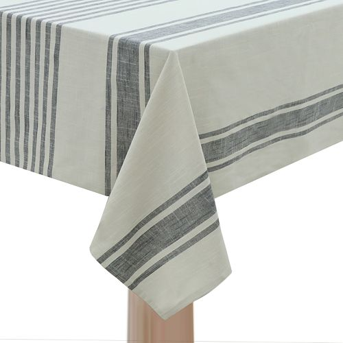 Food Network™ Linen Stripe Tablecloth