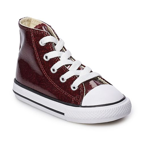 9637682b3d3d ... low cost girls converse chuck taylor all star encapsulated glitter high  top shoes 81cb0 86674