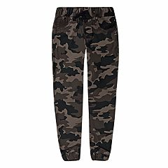Boys 4-7x Levi's® Twill Camouflaged Jogger Pants