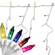 Northlight Seasonal 150 Multi-Color Mini Icicle Christmas Lights