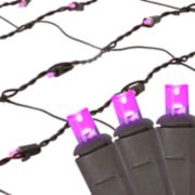Northlight Seasonal Pink LED Mesh Net Christmas Lights