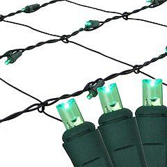 Northlight Seasonal 150 Green LED Mesh Net Christmas Lights