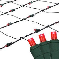 Northlight Seasonal 100 Red LED Wide Angle Icicle Christmas Lights