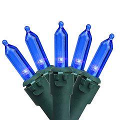 Northlight Seasonal 100 Blue LED Mini Christmas Lights