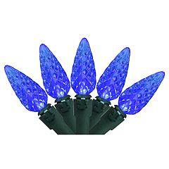Northlight Seasonal 70 Blue LED C6 Christmas Lights