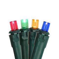 Northlight Seasonal 100 Multi-Color LED Wide Angle Christmas Lights