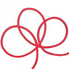 Northlight Seasonal 50' Red LED Neon Style Flexible Christmas Rope Lights