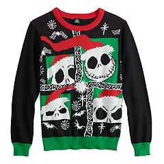 Boys 8-20 Nightmare Before Christmas Jack Sweater