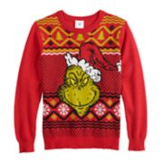 Boys 8-20 Grinch Christmas Sweater