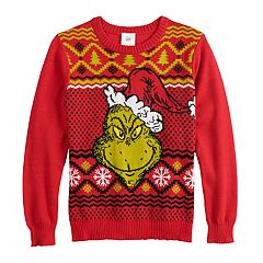 boys 8 20 grinch christmas sweater - How The Grinch Stole Christmas Sweater