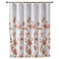 Saturday Knight, Ltd. Misty Floral Shower Curtain
