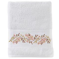 Saturday Knight, Ltd. Misty Floral Bath Towel