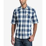 Men's Wrangler Plaid Snap-Front Shirt