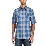 Men's Wrangler Plaid Snap-Front Shirt