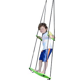 Swurfer Kick Stand Up Outdoor Surfing Tree Swing - Green