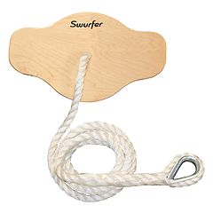 Swurfer Sway Premium Coated Maple Wood Swing