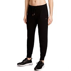 95457ead282420 Women's Danskin Jenna X Seamed Slim-Fit Jogger Pants. Rich Black ...