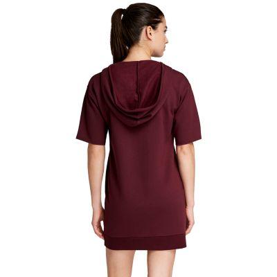 Women's Danskin Jenna X Short Sleeve Hooded Tunic