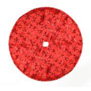Northlight Seasonal 20-in. Red Sequin Snowflake Christmas Tree Skirt