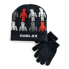 Boys 4-20 Roblox Hat & Gloves Set