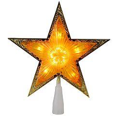 Northlight Seasonal Pre-Lit Embellished Star Christmas Tree Topper