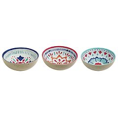 Food Network™ Medallion 3-pc. Dip Bowl Set