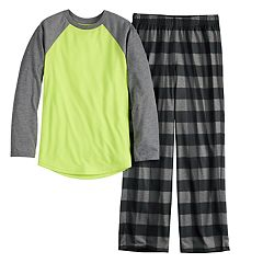 Boys 6-20 Urban Pipeline™ Raglan & Pants Pajama Set