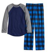 Boys 6-20 Urban Pipeline? Raglan & Pants Pajama Set