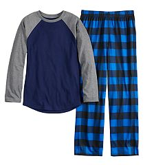 Boys 6-20 Urban Pipeline™ Raglan & Pants Pajama Set